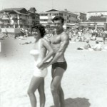 "Uncle Dan, Aunt Rose 1958 ""Muscle Beach"""