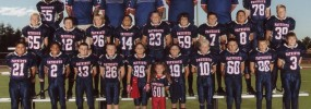 Good Luck 2013 Bantam Blue Patriots!