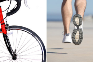 Cycling/Spinning vs. Walking/Running